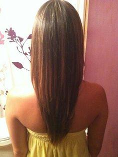 Astonishing Hair Cut V Shape Hair And V Cut Hair On Pinterest Short Hairstyles For Black Women Fulllsitofus