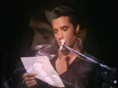 Elvis Presley Are You Lonesome Tonight, Fantastic Video!