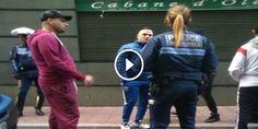 VIDEO CHOC- JUL DEVIENT FOU ET SE BAGARRE AVEC DEUX POLICIERS