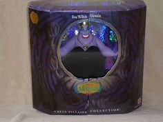 Disney Villains Little Mermaid Sea Witch Ursula Doll Great Villains Collect | eBay