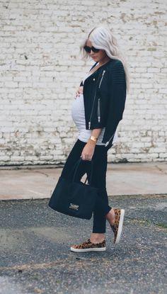 20 Lindos outfits que te harán lucir hermosa y presumir tu pancita de  embarazada 1a3402fbbf6