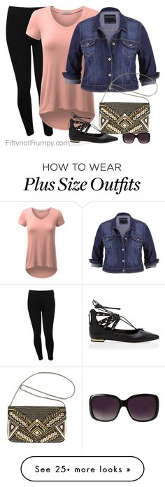 """Ready in Five"" by fiftynotfrumpy on Polyvore featuring M&Co, maurices, Avenue, White House Black Market and Merona"