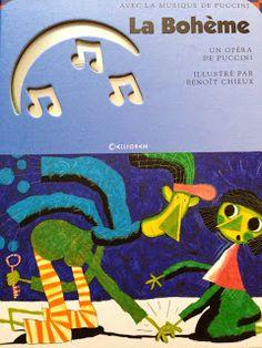 Piccoli Viaggi Musicali: La Boheme (7) - Libro per bambini francese... trad...