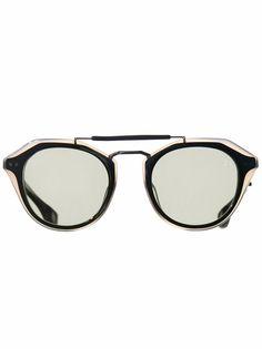 BLAKE KUWAHARA - Acetate Sunglasses - BECKET-NOIR-SUN - H. Lorenzo