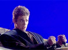 Anakin Skywalker (Hayden Christensen) - Behind the scenes - Star Wars Episode II: Attack of the clones