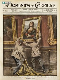 Vụ trộm táo bạo khiến tên tuổi bức Mona Lisa nổi như cồn! - Ảnh 1.