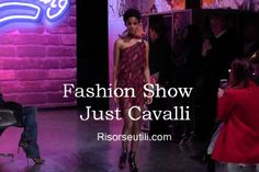 Fashion show Just Cavalli fall winter 2016 2017 womenswear