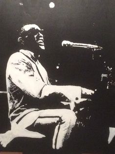 RAY CHARLES (omaggio) dipinto a mano Art, Art Background, Kunst, Performing Arts, Art Education Resources, Artworks