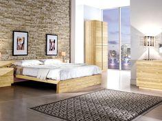 Camera matrimoniale #ArredissimA in legno massello dettagli al link http://www.arredissima.com/camere-da-letto/camera-cortina.html