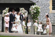 Kate Middleton Photos Photos: Wedding of Pippa Middleton and James Matthews Pippa Middleton Wedding, Middleton Family, Kate Middleton Photos, Pippas Wedding, Wedding Season, Wedding Bells, Wedding Ceremony, Wedding Dress, Wedding Bridesmaids