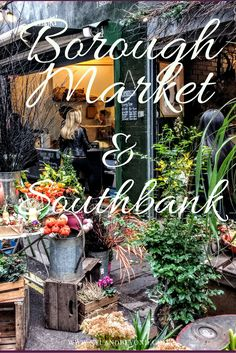 Borough Market has been around for a 1000 years and it is still going strong. An amazing place to visit for fresh foods, seafood, veggies and unusual ingredients. Not to mention loads of food and drinks.