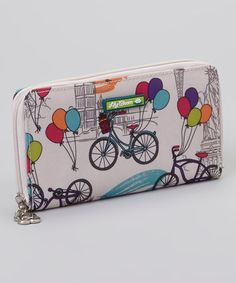 This Up In The Air Zip Around Wallet by Lily Bloom is perfect! #zulilyfinds