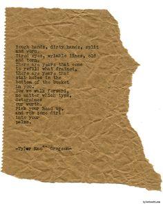 Typewriter Series #1693 by Tyler Knott Gregson