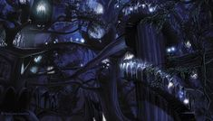 Lothlorien by Scott Johnson - Fantasy art galleries at Epilogue.net - Fantasy and Sci-fi at their best
