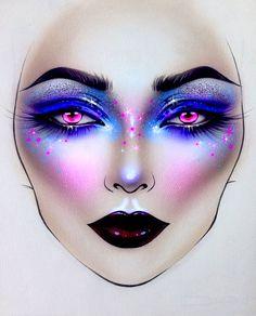 "9,526 Likes, 46 Comments - Sergey X (@milk1422) on Instagram: ""#artist@milk1412 ✨ #mylove #myart #myartistcommunity #myartistcommunityrussia #makeup #makeupart…"""