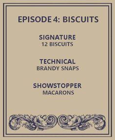 Brandy Snaps, Gbbo, Great British Bake Off, Macarons, Macaroons