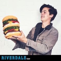 Classic Jughead. See how Cole Sprouse becomes the comic book prankster on Riverdale, Thursday at 9/8c on The CW.