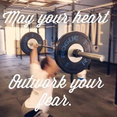 May your heart overcome the lies your mind holds. // crossfit / motivation / fitness / strongspo // nvrstop.com