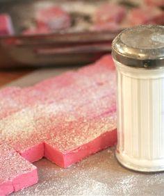 raspberry marshmallows...