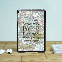 John Green Paper Towns Quotes Cover iPad Mini 2 Case Dewantary