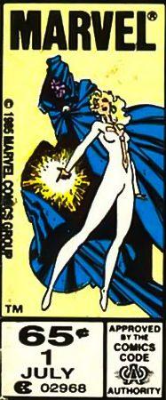 Marvel corner box art - Cloak & Dagger