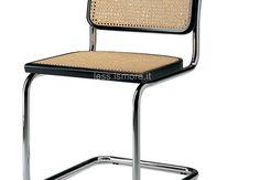 Sedia Cesca B 64, Marcel Breuer, 1928. Marcel Breuer progettò la sedia B 64 NEL 1928. La sedia in seguito prese il nome Cesca in omaggio alla figlia adottiva dell'autore Francesca. La sedia nasce in seguito ad alcune elaborazioni del modello di Mart Stam. Si tratta di uno dei più noti modelli di sedia cantilever.