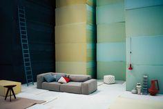 Elle Decor Italy photography by Andrea Ferrari / styling Studiopepe; Neowall design Piero Lissoni