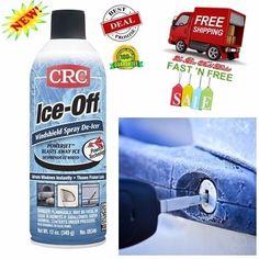 Dissolution Ice Spray Frozen Car Tool 12 Oz Windshield Easy Thaw Keys Door Locks #CRC