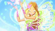 Winx club Flora Butterflix
