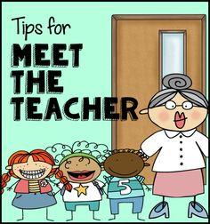 Meet the Teacher - tips plus FREE printables.