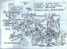 The Reich had many hidden route & coves charted in South America The author is in possession of many such secret German charts.