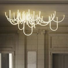 Les Cordes chandelier by Mathieu Lehanneur for Château Borély