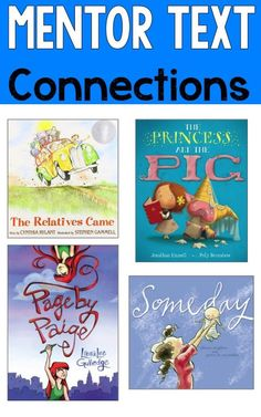 Reading Mentor Texts-Great mentor texts for making connections! These are great for teaching comprehension strategies!