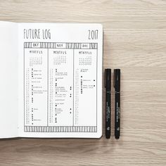 Can't believe we are almost in December, and the future log is starting to fill up. Still thinking about doing the Alastair method to complement the future log as there sometimes just isn't enough room to write. How do you do your future planning? Maybe you guys have an better idea!