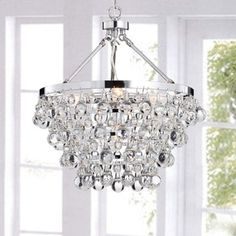 Indoor 5-light Luxury Crystal Chandelier - 12994829 - Overstock.com Shopping - Great Deals on The Lighting Store Chandeliers & Pendants