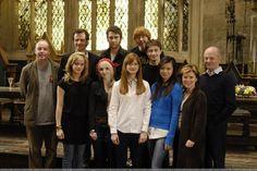 Sur le tournage d'Harry Potter et l'Ordre du Phénix