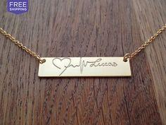 Custom Text Pendant Necklace | Jewelry U Design