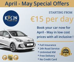 Book your car now in low cost prices with all inclusive ! Low Cost Cars, Suzuki Alto, Fiat Panda, Nissan Qashqai, Best Rated, All Inclusive, Car Brands, Day Book, Car Rental