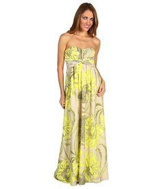 Jessica Simpson Strapless Floral Maxi Dress at Zappos.com $118