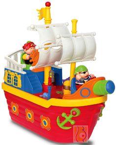 Interaktywny statek piracki - rymowanki w j. polskim :: Zabawki Kiddieland