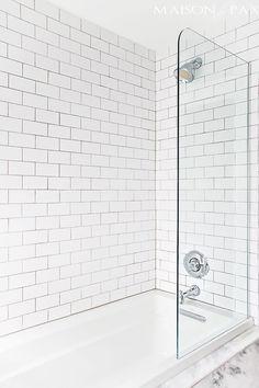 Vidrio en lugar de pared