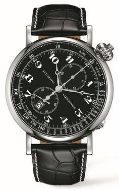 Zdjęcie 1 Longines Avigation Watch Type A-7 Column-Wheel Chronograf L2.779.4.53.0