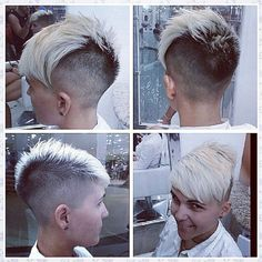 planetbuzzedgirls:  10879 by short hairstyles and makeovers on Flickr. 10879