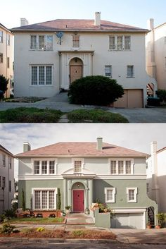 241 Best Ugly House Makeovers Images Exterior Homes House