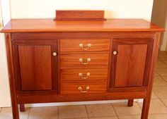 Picture of Anniversary cabinet with a wooden combination lock