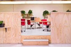 Inside Column Five's New Warehouse Offices - Office Snapshots