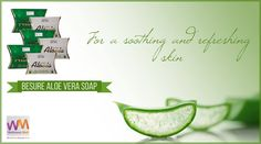 This aloe vera soap keeps your skin soft, smooth and comfortable! Visit our website to know more about our skincare range. Buy here : http://ipt.pw/q0g9ye