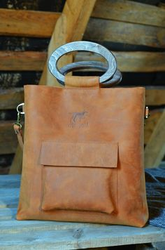 Hey, I found this really awesome Etsy listing at https://www.etsy.com/listing/267374402/leather-tote-handbag-with-wooden-handles