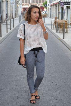 Blog Mode et Lifestyle La Rochelle - www.topknotandteacups.com #sheinside #inspirationmode #jogpant #larochelle #fashioninspiration