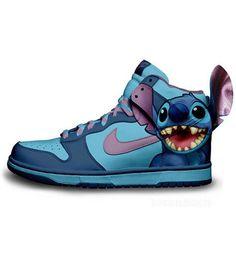 Stitch from Lilo   Stitch Nike Dunk concept design. bb618e5447864